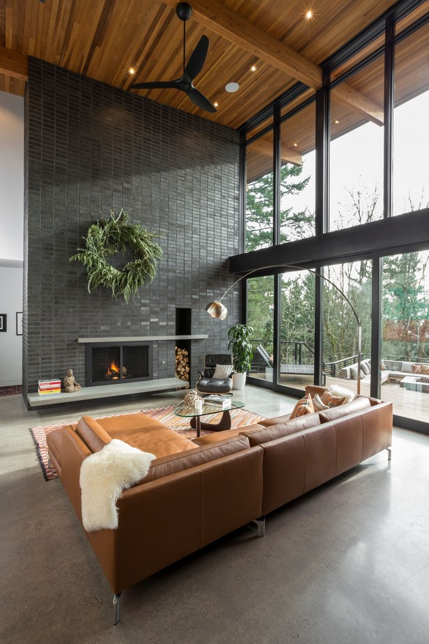 50 trend window ideas for modern living room 4