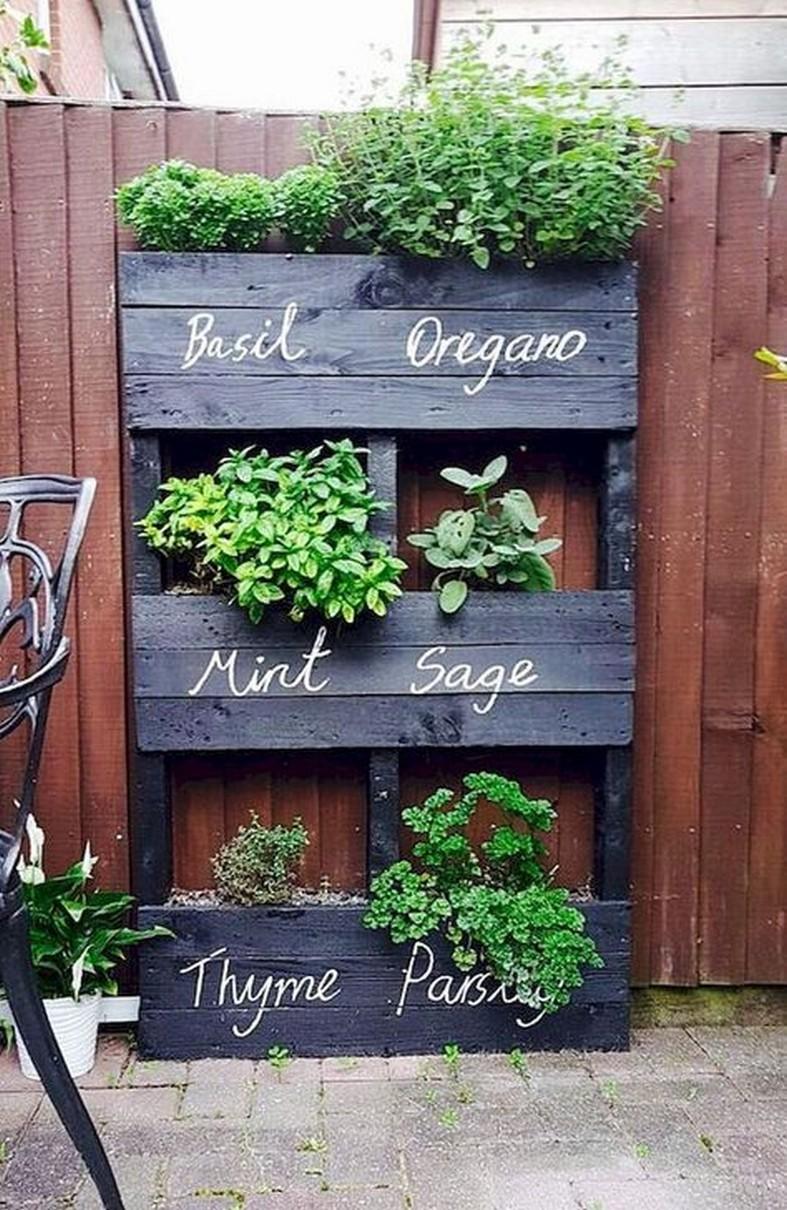 55 Innovative DIY Projects Pallet Garden Design Ideas 2