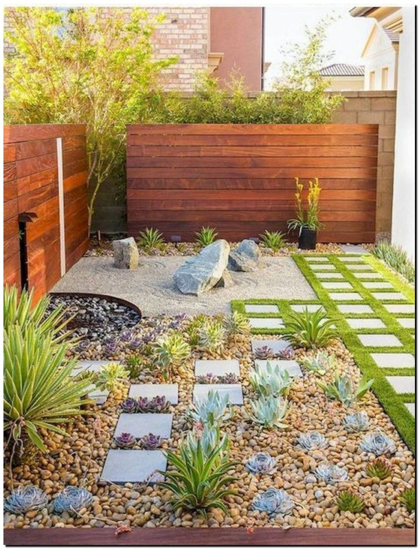 55 trendy fresh garden and landscaping ideas for the front yard 51