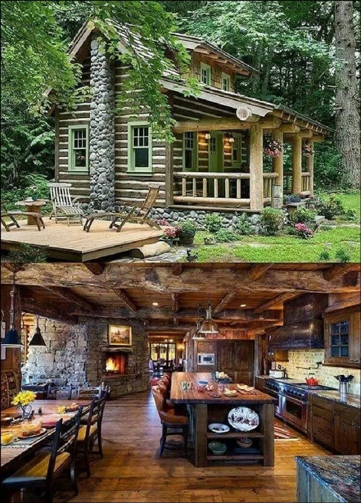 60+ dream home small huts and cottages design ideas 40