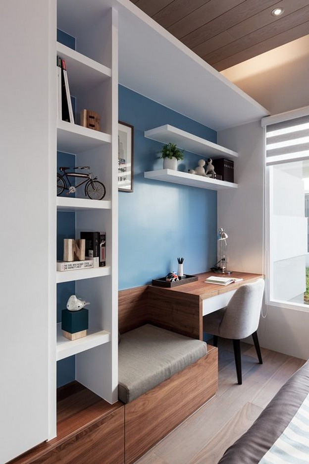 66 Smart Corner Home Office ideas very personal with little storage space 1