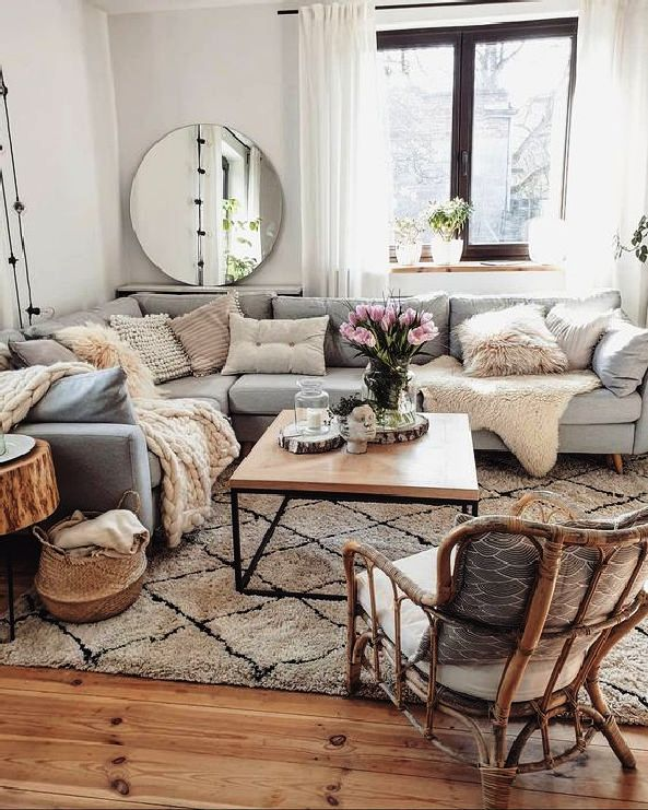 Easy Ways To Update Your Modern Living Room 29