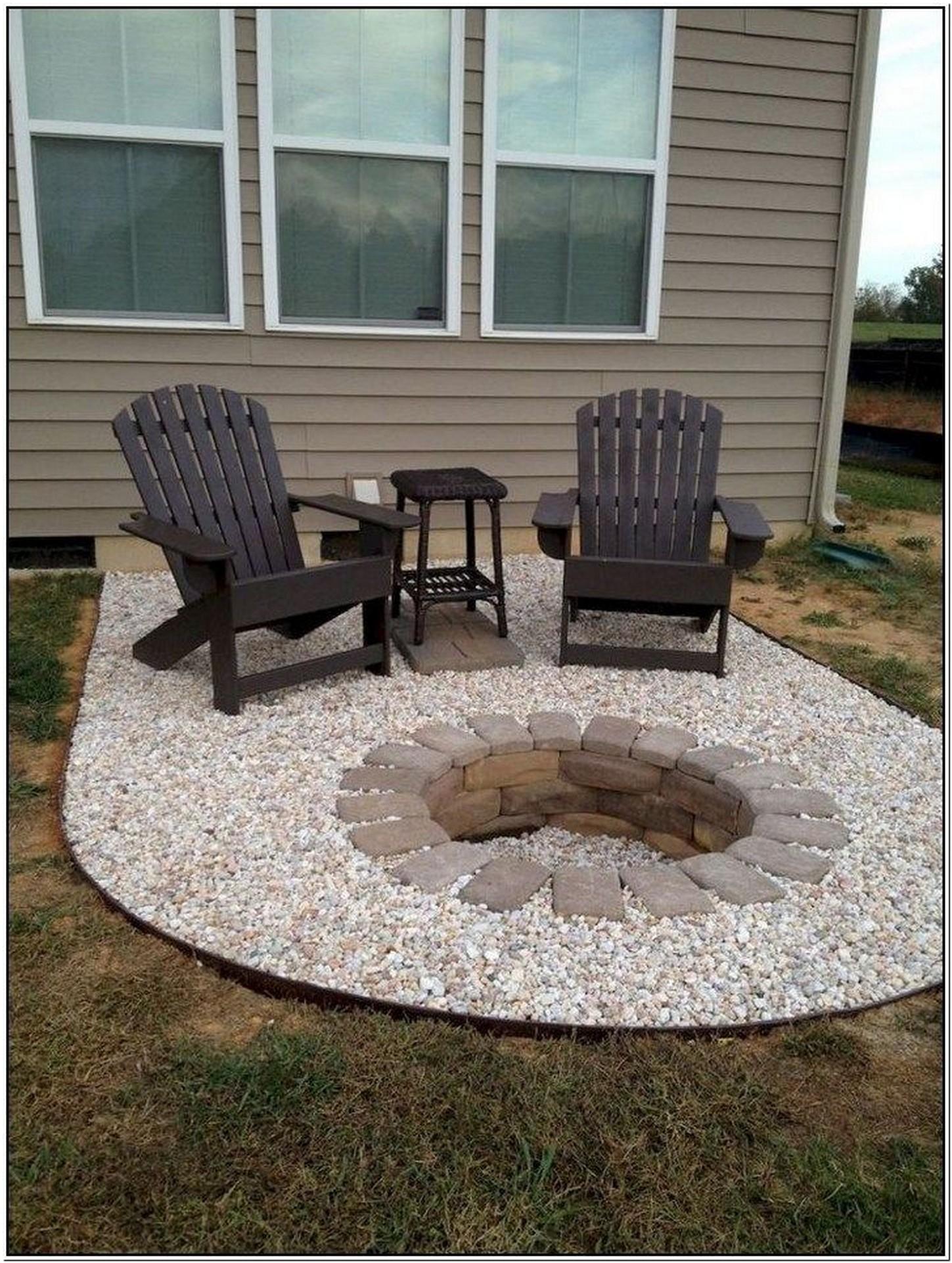 Extraordinary design ideas for a fireplace for your garden 25