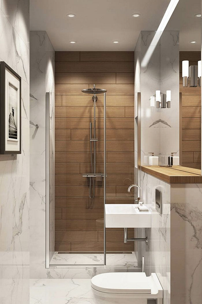 Luxurious furnishing ideas for small bathrooms 8