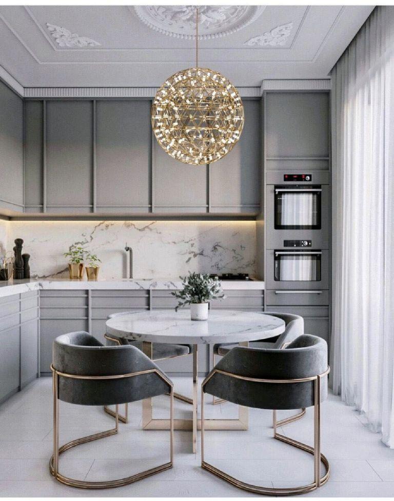 Converting a luxury kitchen with modern design ideas 21