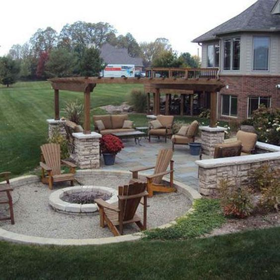 Amazing 50+ DIY pergola and fire pit ideas - Crafts and DIY Ideas .