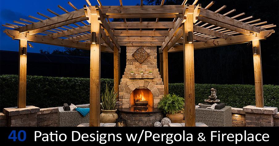 Amazing Pergola Ideas with Fire Pit –   Pergola Design Ideas