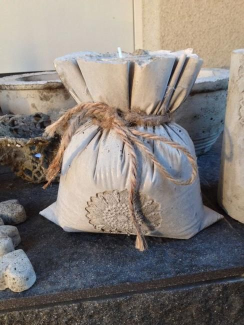 DIY Concrete Planters, Ideas for Outdoor Home Decorating with .