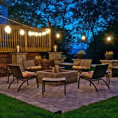 11 Outdoor String Lighting Ideas for a Modern Backyard   YLighting .