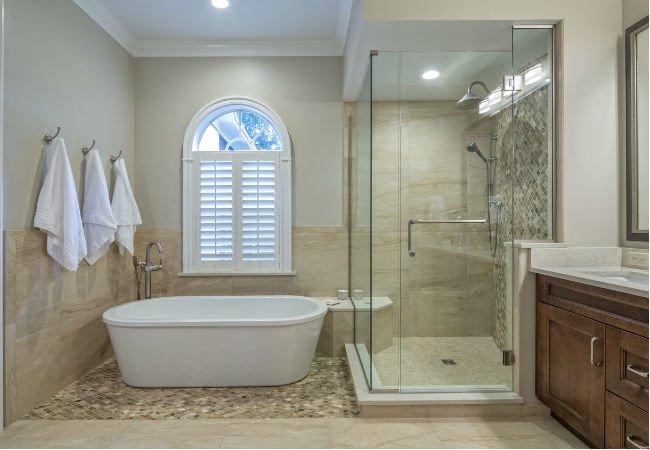Tub vs Shower: The Big Bathroom Remodeling Design Decision - Bob Vi
