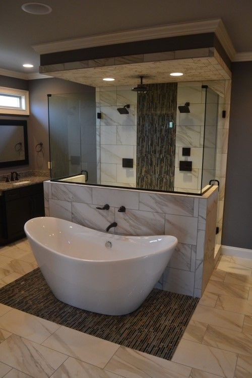 master bath floor plans with walk in shower - Google Search .