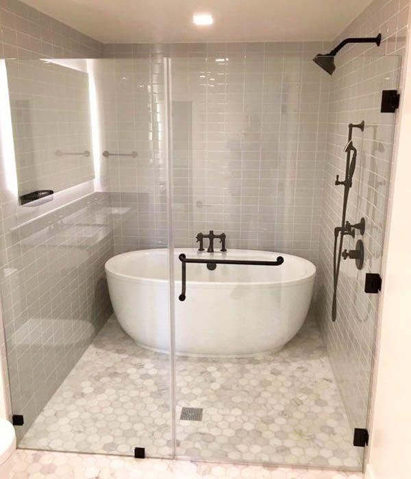 Tub Inside Shower (Design Ideas)   Bathroom tub shower combo .
