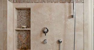 Beautiful Shower Tile Ideas Glass Cover Shower Metalic Shower .