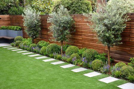 27 Awesome Backyard Landscaping Ideas   Backyard garden design .