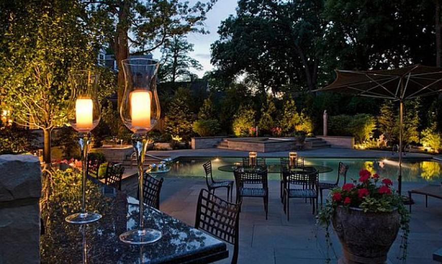 Beautiful Garden Backyard Lighting Ideas