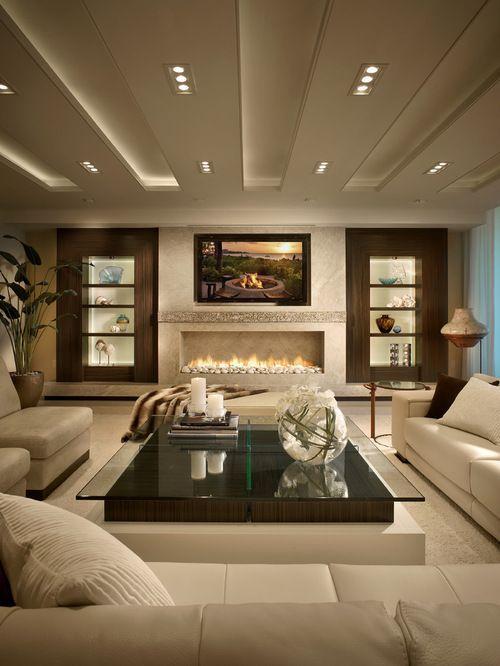 Beautiful Interior Design for Modern   Living Room