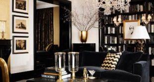 152756099_jyBs8Kb9_c | Gold living room, Black and gold living .