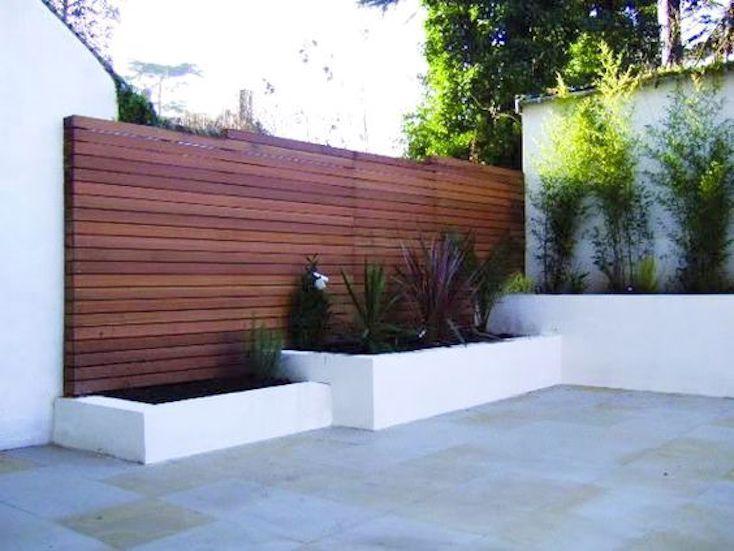 Beautiful Modern Fence Design Ideas   Modern fence design .