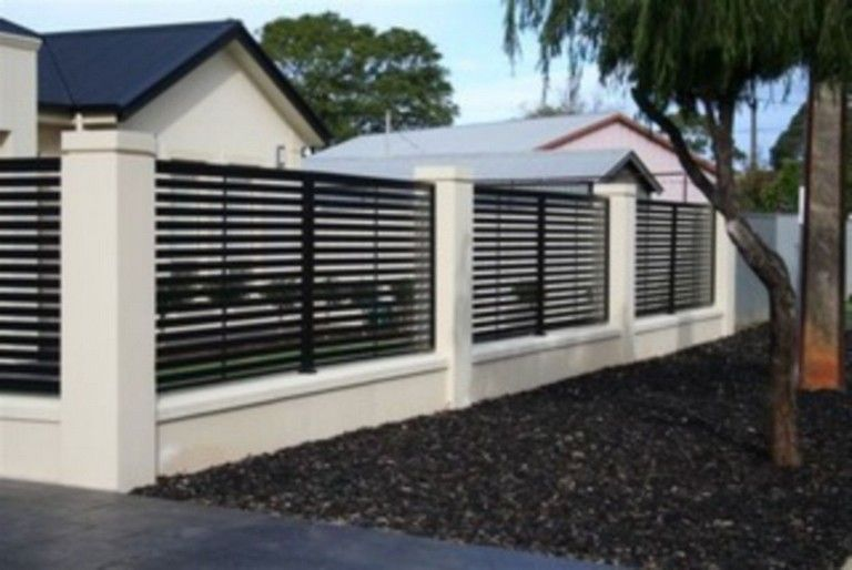 45+ Unique Modern Fence Design Ideas To Enhance Your Beautiful .