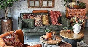 30 Boho Living Room Ideas - Bohemian decor inpsiration for your .