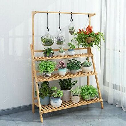 Enjoy The Beautiful Plant Stand With A Gorgeous Green View .