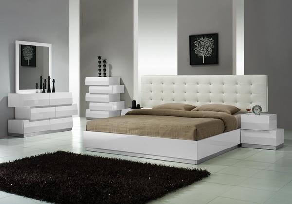 Modern white dressers – stylish bedroom furniture ide