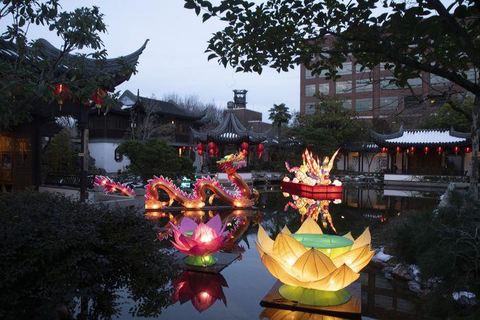 Lan Su Chinese Garden Lunar New Year - oregonlive.c