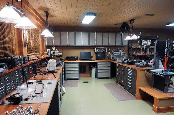 Top 60 Best Garage Workshop Ideas - Manly Working Spaces .