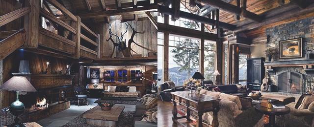 Top 60 Best Log Cabin Interior Design Ideas - Mountain Retreat Hom