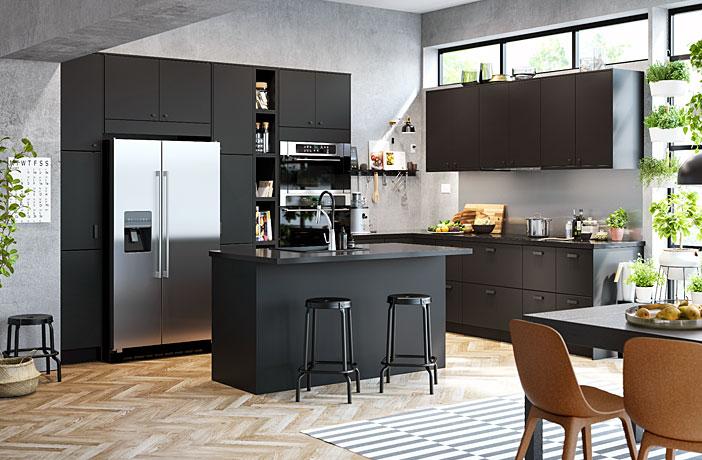 80 Black Kitchen Cabinets – The Most Creative Designs & Ideas .
