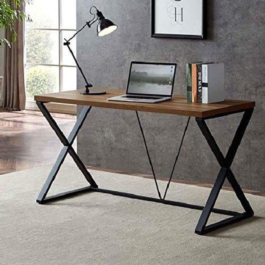 Black wall trend home office design ideas 10 | homezide