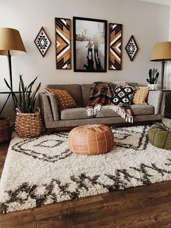 Spectacular African Inspired Interior Design | Bohemian living .