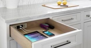 What Is a Docking Drawer? How to Keep Your Counters Ti