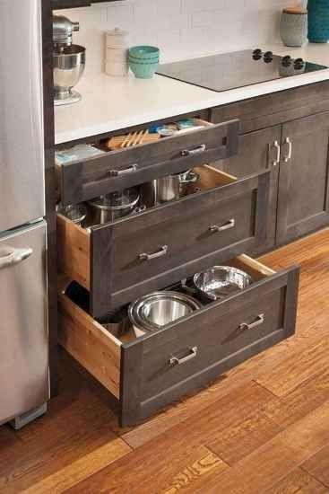 37 Brilliant Kitchen Cabinet Organization and Tips Ideas .