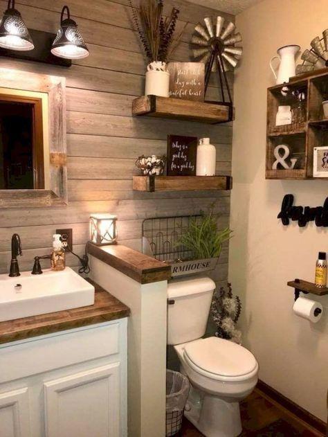 Charming Farmhouse Bathroom Decor With   Best Accessories
