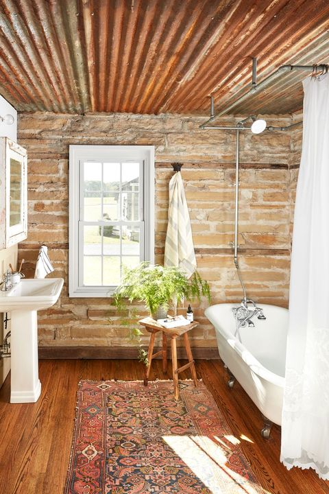 20 Best Farmhouse Bathroom Design Ideas - Farmhouse Bathroom Dec