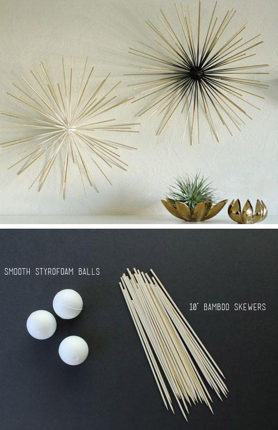 36 Creative DIY Wall Art Ideas for Your Home   Diy wall art, Art .