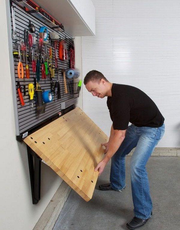 Clever Garage Storage & Organization Ideas   Garage makeover .