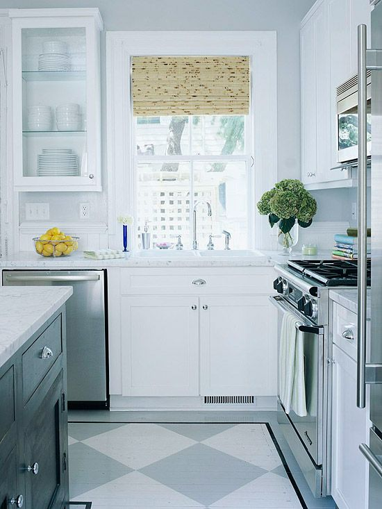 Make a Small Kitchen Look Larger with These Clever Design Tricks .