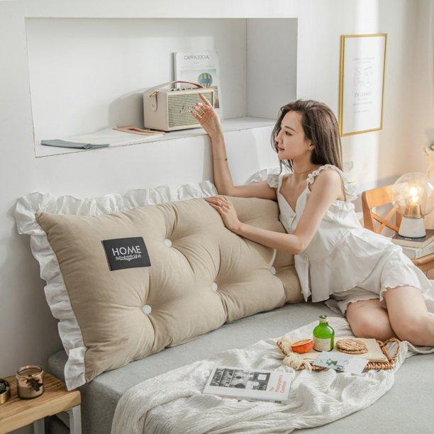 Sofa Bed Large Filled Rectangle Cushion Bed Backrest Positioning .