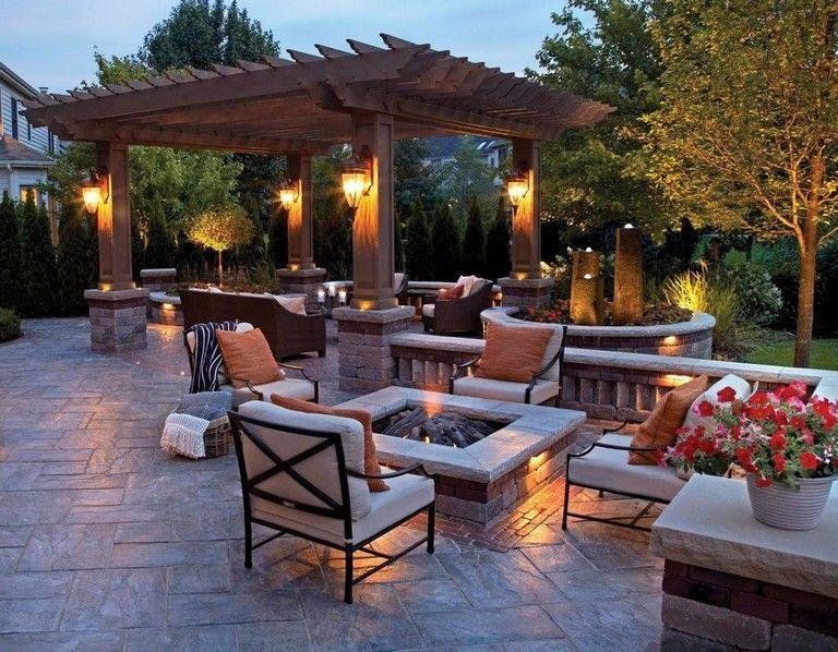 33+ Comfy Backyard Patio Design Ideas | Outdoor patio ideas .