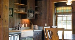 Cabin Style Decorating Ideas - Town & Country Living   Small cabin .