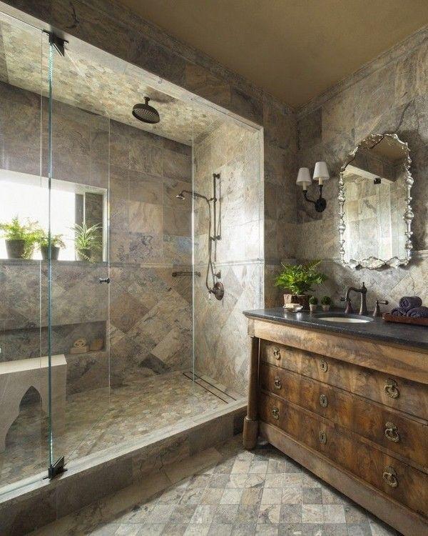 30+ Awesome Modern Rustic Bathroom Decor Ideas - The Urban .
