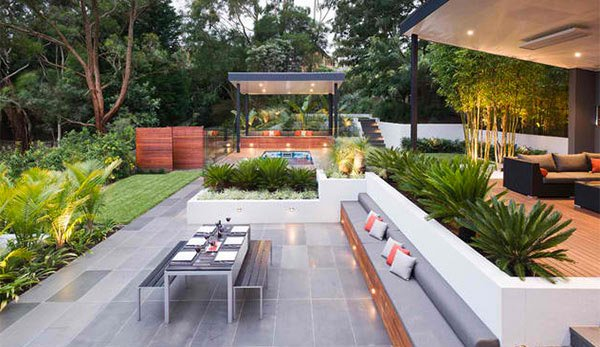 Contemporary Patio Designs For Backyard