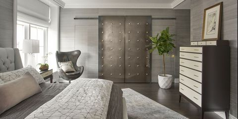 34 Stylish Gray Bedrooms - Ideas for Gray Walls, Furniture & Decor .
