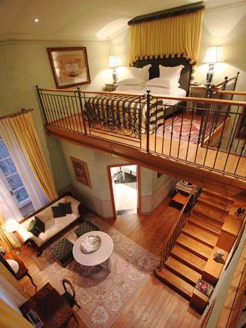 I love the layout! Cozy small apartment.   Best tiny house, Tiny .
