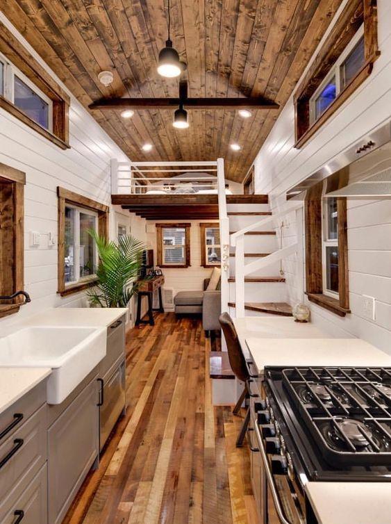 Tiny Homes Interior Design Ideas   Modern tiny house, Tiny house .