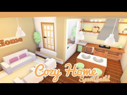 🍂Cozy Tiny Home  Roblox Adopt Me  Speed Build🍂 - YouTube   Home .