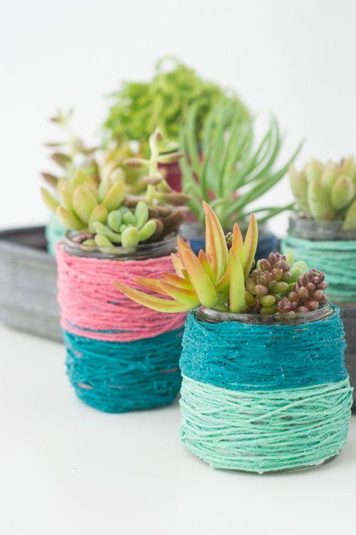 Creative DIY Succulents Planters