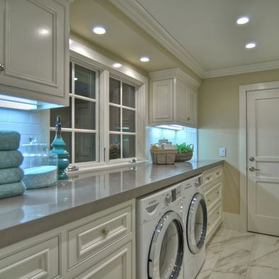 Making the Most Out of Your Square Footage   Laundry mud room .